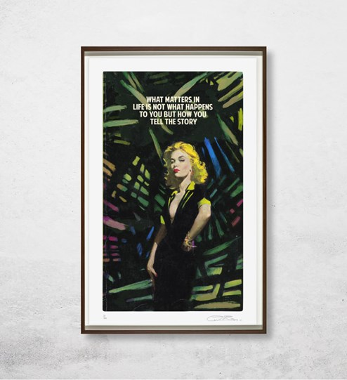 What Matters in Life by The Connor Brothers - Silkscreen Limited Edition wall setting